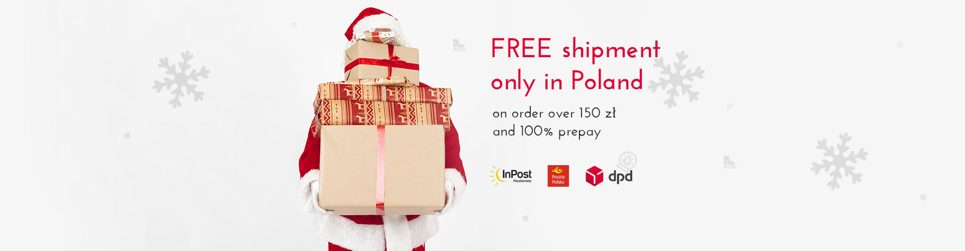 FREE shipment only in Poland
