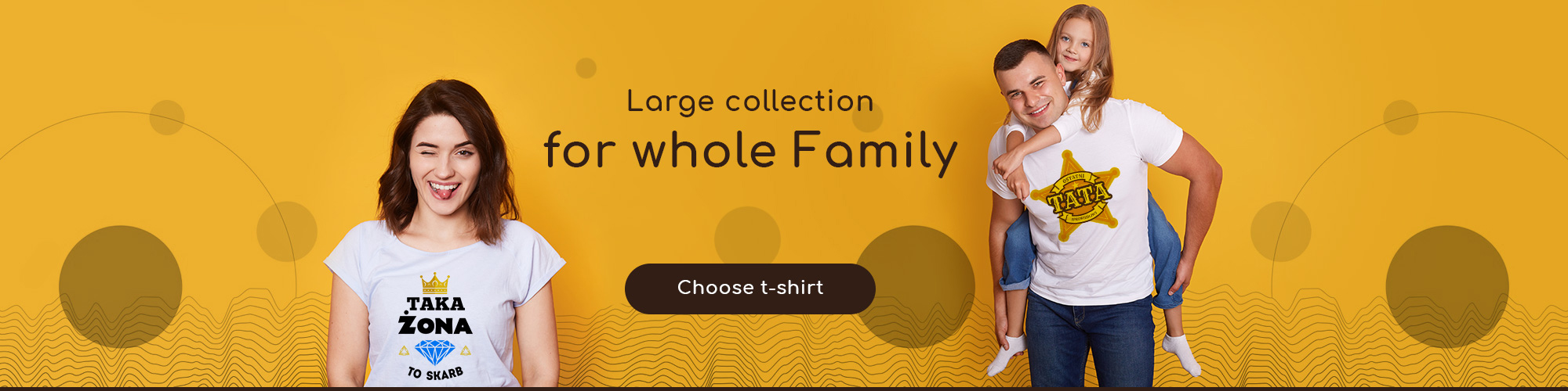 T-shirts for whole Family