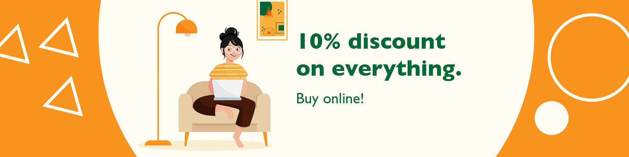 10% discount on everything