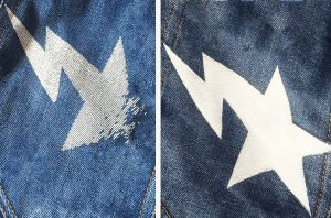 How to restore cracked print on clothes? | PrintSalon.pl