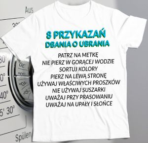 How to care of a printed T-shirt?   PrintSalon.pl