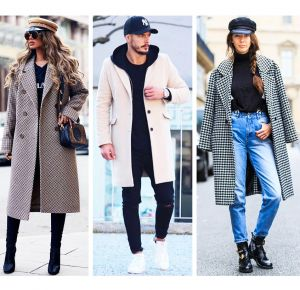 How to match a hat with a coat: stylist tips