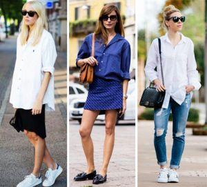 Jak nosić luźne koszule, aby wyglądać modnie | PrintSalon.pl