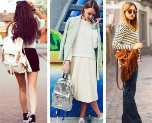 How to choose a fashionable women's backpack for the 2021-2022 season