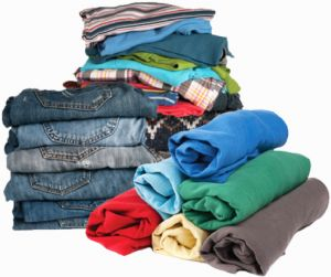 How to fold clothes to avoid wrinkles