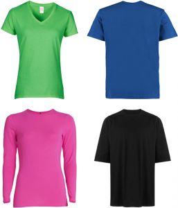 T-shirts: main types and models