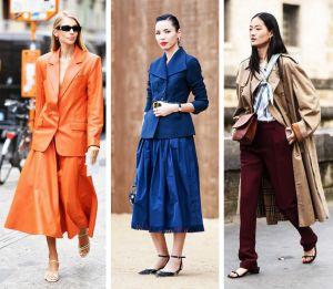 Kolor ubrań na jesień 2020 - zimę 2021: wskazówki dotyczące wyboru garderoby w modnych odcieniach | PrintSalon.pl