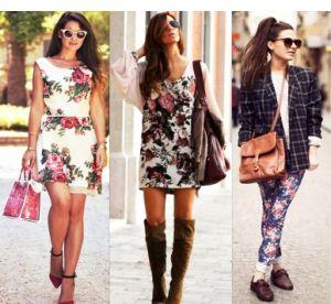 Accessories that will match floral prints | PrintSalon.pl