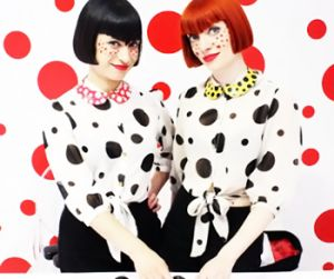 Polka dot print: how and with what wear it | PrintSalon.pl