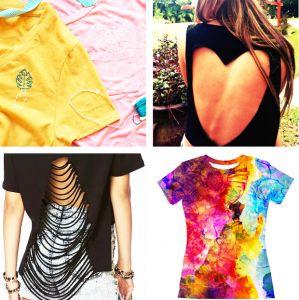 Trzy sposoby na przerobienie starej koszulki | PrintSalon.pl