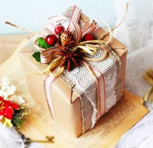 How to decorate a gift box | PrintSalon.pl