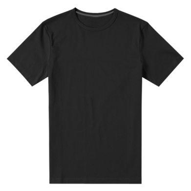 Kolor Czarny, Męskie koszulki premium - PrintSalon