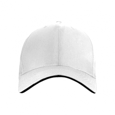 Color White, Baseball caps - PrintSalon