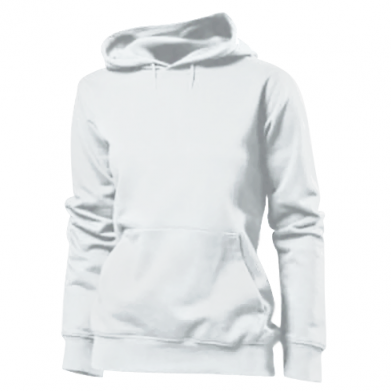 Color White, Women's hoodies - PrintSalon