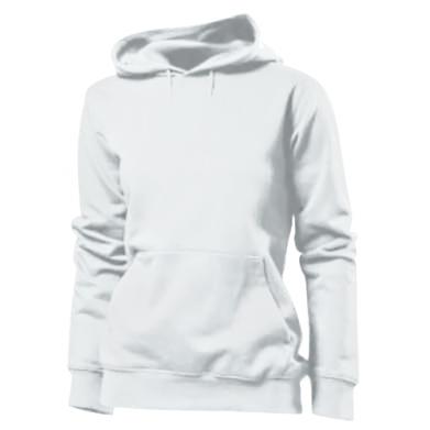 Kolor Biały, Damskie bluzy z kapturem - PrintSalon