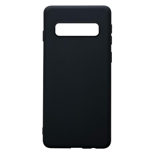 Phone case for Samsung S10 Cup of coffee with closed eyes