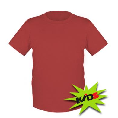 Kolor Czerwony, Koszulki dziecięce - PrintSalon