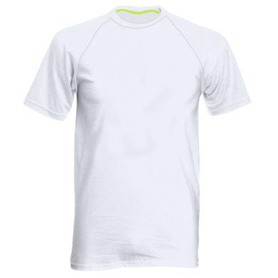 Kolor Biały, Męskie koszulki sportowe - PrintSalon