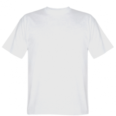 Kolor Biały, Męskie koszulki - PrintSalon