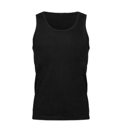 Color Black, Men's tank tops - PrintSalon