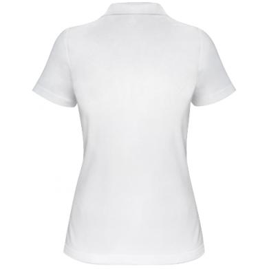 Kolor Biały, Damskie polo - PrintSalon