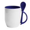 Mug with ceramic spoon Bad dancer but good dad