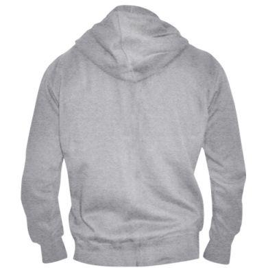 Color Grey, Men's zip up hoodies - PrintSalon