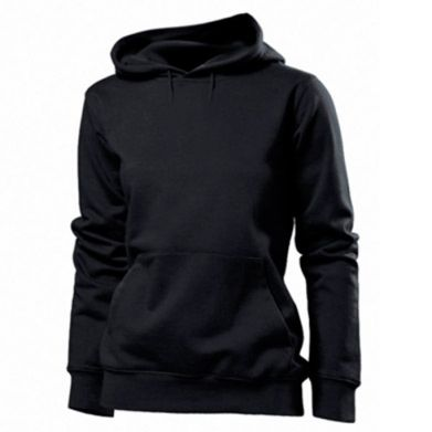 Color Black, Women's hoodies - PrintSalon