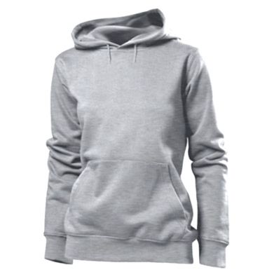Color Grey, Women's hoodies - PrintSalon