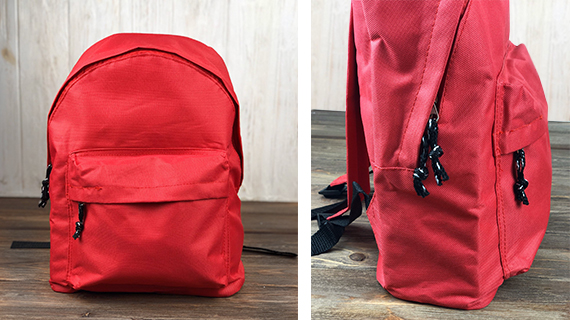 Plecaki z przednią kieszenią