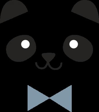 Print Notes Panda guy - PrintSalon