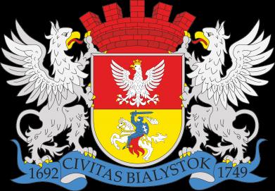 Print Water bottle Bialystok coat of arms - PrintSalon