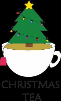 Print Water bottle Christmas tea - PrintSalon