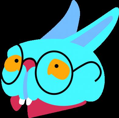 Print Notes Rabbit with glasses - PrintSalon
