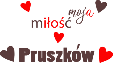 Print Mug 330ml Inscription - My love is Pruszkow - PrintSalon