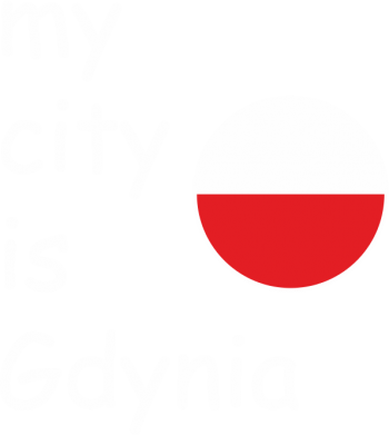 Print Bluza (raglan) My city is Gdynia - PrintSalon