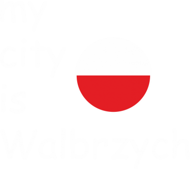 Print Damska koszulka polo My city is Walbrzych - PrintSalon