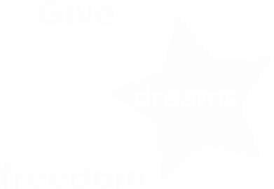 Print Bluza (raglan) Give dreams freedom - PrintSalon