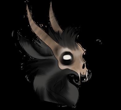 Print Kubek-kameleon Hyena in the skull - PrintSalon