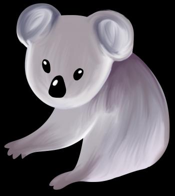 Print Etui na iPhone 11 Shy koala - PrintSalon