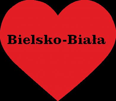 Print Women's hoodies Bielsko-Biala in the heart - PrintSalon