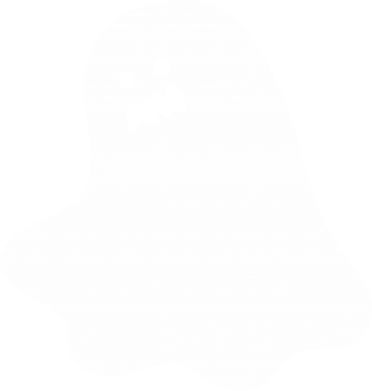 Print Bokserki męskie Ridiculous ghost - PrintSalon