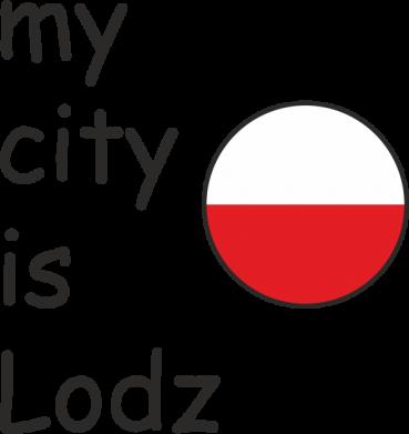 Print Etui na iPhone 11 Pro Max My city is Lodz - PrintSalon