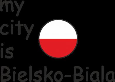 Print Etui na iPhone 11 Pro Max My city is Bielsko-Biala - PrintSalon