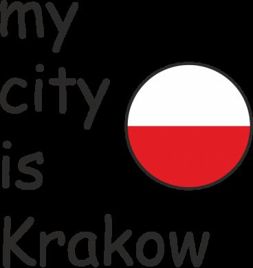 Print Etui na iPhone 11 Pro Max My city is Krakow - PrintSalon