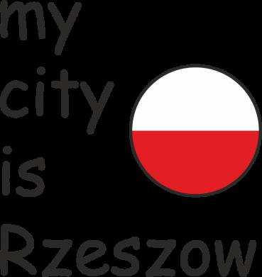 Print Mug 330ml My city is Rzeszow - PrintSalon