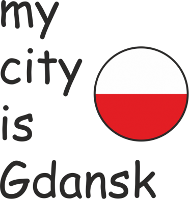Print Mug 330ml My city is Gdansk - PrintSalon