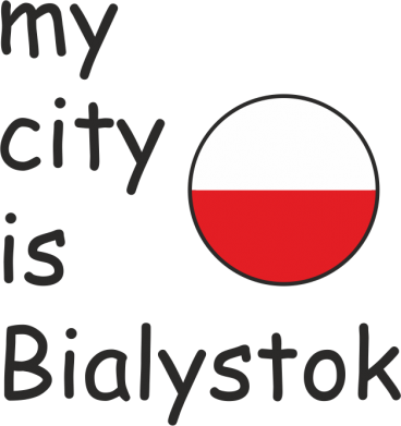 Print Mug 330ml My city is Bialystok - PrintSalon