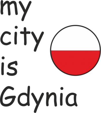 Print Mug 330ml My city is Gdynia - PrintSalon