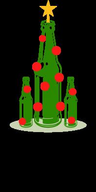 Print Water bottle The only right tree - PrintSalon